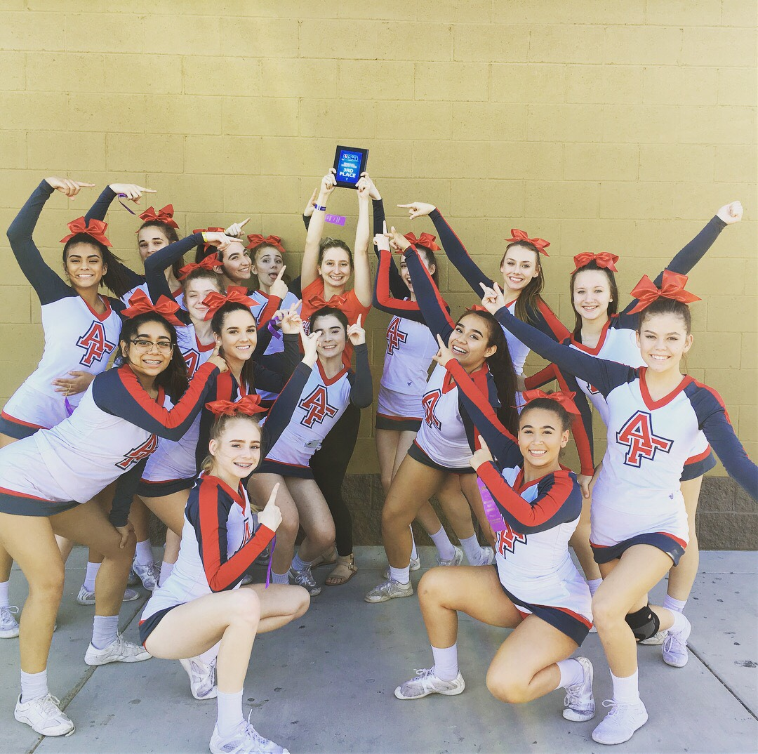 Varsity Cheer Qualifys For Nationals