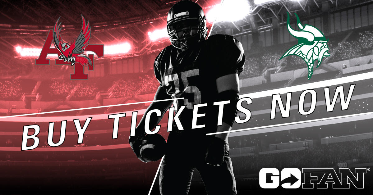 Get Tickets Online – Agua Fria hosts Sunnyslope This Friday – Presented by VNN and GoFan