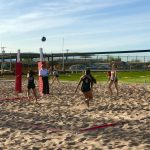 Beach Volleyball Stays Committed to Improving