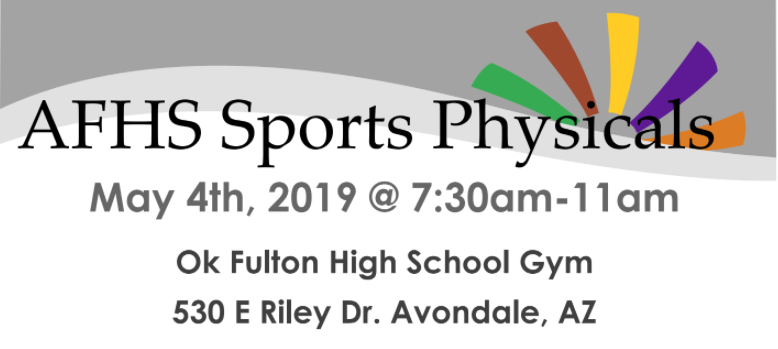 $10 Physicals For AFHS Athletes