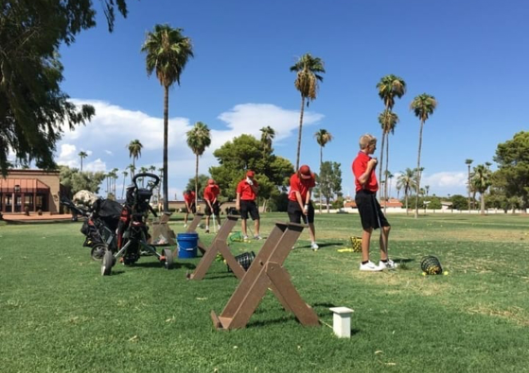 Boys and Girls Golf Bring the Heat