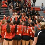 W Volleyball Seniors Say Farewell