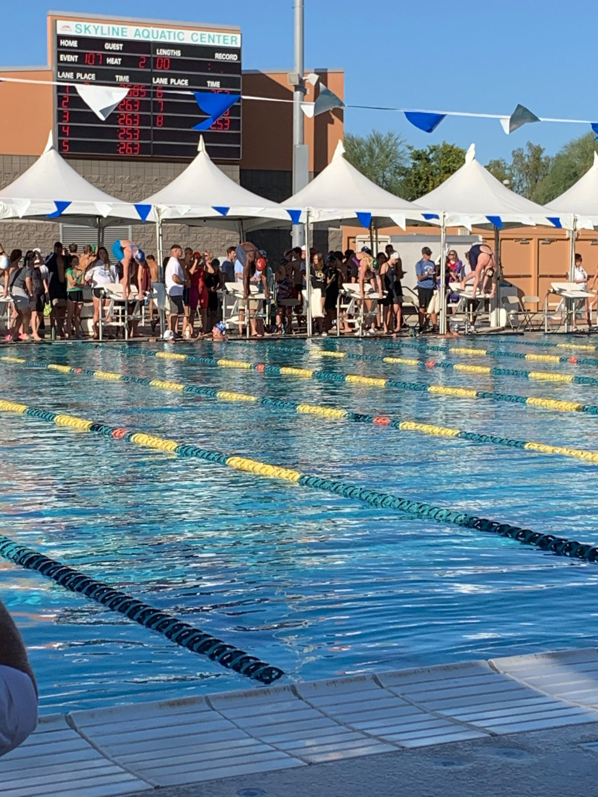 Raven Roberts Among State's Best Swimmers