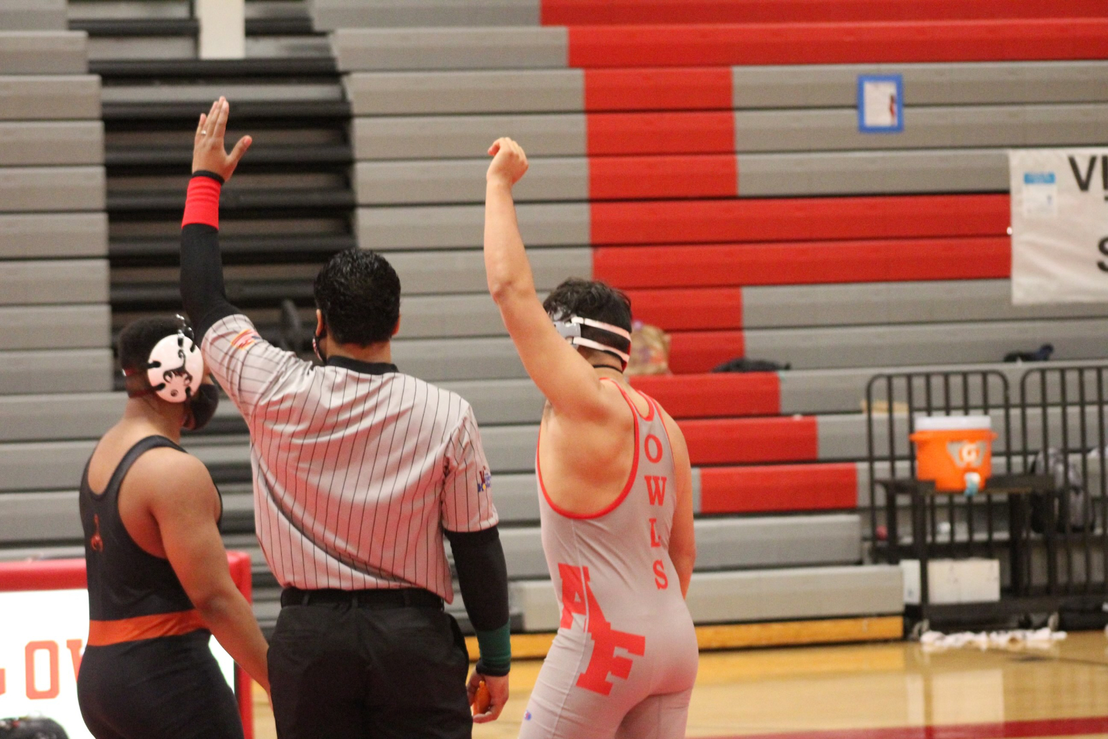 Owls Wrestling Roll on to State