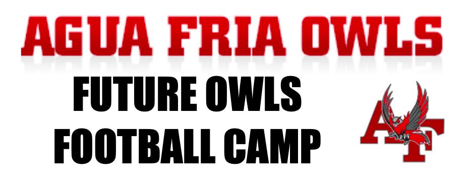Future Owls Football Camp Begins April 26