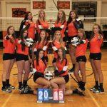 Eastlake North High School Girls Varsity Volleyball beat Berkshire High School 4-1