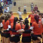 Eastlake North High School Girls Varsity Volleyball beat Aurora High School 3-1