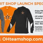 Online Spirit Wear Shop! Free Shipping until 9/10