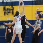 North girls' hoops vs Bay (with pics)