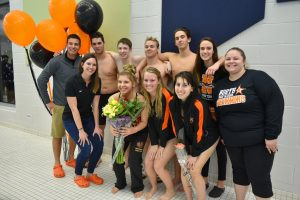 Swim Senior Night 2020