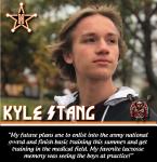 Senior Spotlight: Kyle Stang