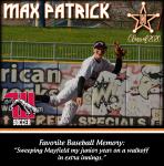 Senior Spotlight: Max Patrick