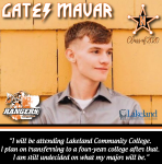 Senior Spotlight: Gates Mavar