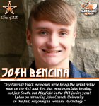 Senior Spotlight: Josh Bencina