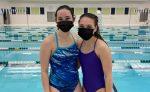 Adams, Dempsey swim way to district meet