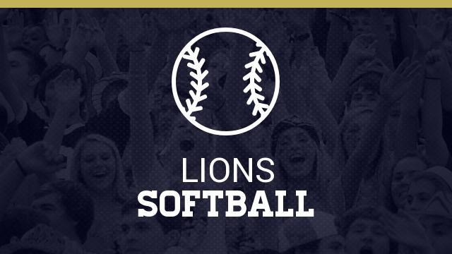Lady Lion Softball Camp