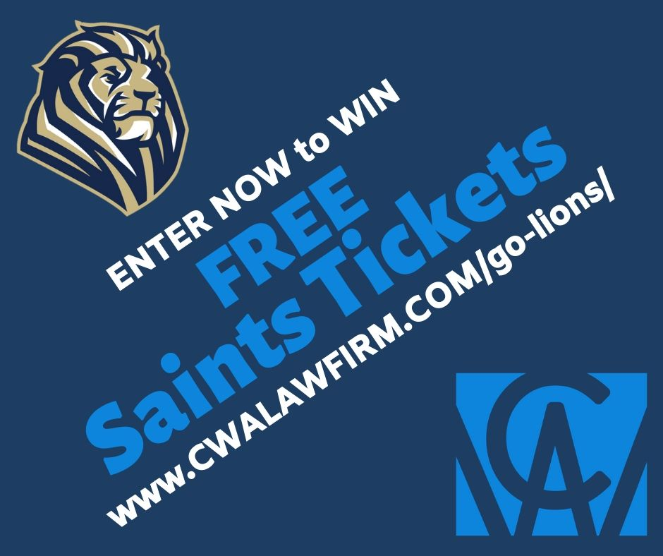 Saints Tickets Giveaway