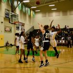 Girls Varsity Basketball uses strong second half to beat Central 64-38