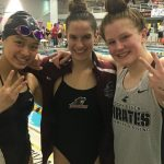 Rinse, three-peat: Pirates take twin titles in GLC meet