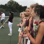 River racket-eers celebrate seniors