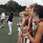 River racket-eers celebrate seniors