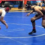 Mat battles net four for district brackets