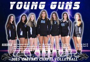 Varsity Volleyball Poster