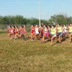 Girls Cross Country Practice