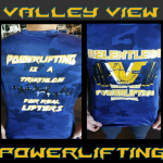 Valley View Powerlifting Shirts