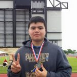 Cantu wins Silver in Shot Put, Advances to Regionals
