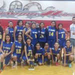 7th Grade Girls Basketball Take 1st Place