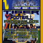 Friday Night Football Program Ads