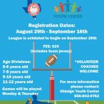 Hidalgo Youth Center Flag Football League