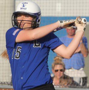 LHS softball Sarah Aubuchon