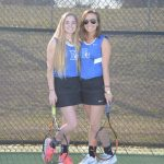 Girls Tennis Katherine and Margaret Daily