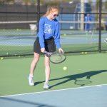 Girls Tennis Morgan Harmon