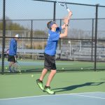 Boys Tennis Kaleb Jasper