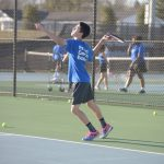 Boys Tennis Elijah Alexander