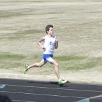 Boys Track Caleb Kawasaki