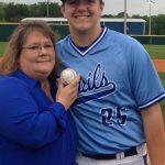 Cody Lackey Baseball Team Senior Night