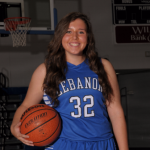 Congratulations to Rebecca Brown January Blue Devil Student-Athlete of the Month