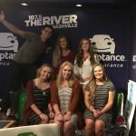 Varsity Cheerleaders at 107.5 the river