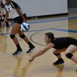 Addie Grace Porter LHS Volleyball vs Summit