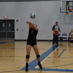 Addie Grace Porter Volleyball Game