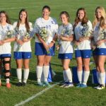 Girls soccer Senior Night