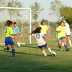 #10 karen calderon with the hot on goal vs lavergne