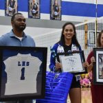 Maleigha Oldham Family Senior Night