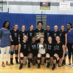 Volleyball Team District Winner