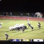 LHS Football vs WCHS Football