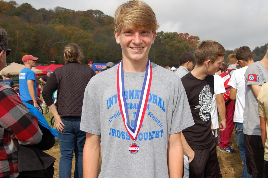 Vote for Aiden Britt for Freshman Boys XC Runner of the Year